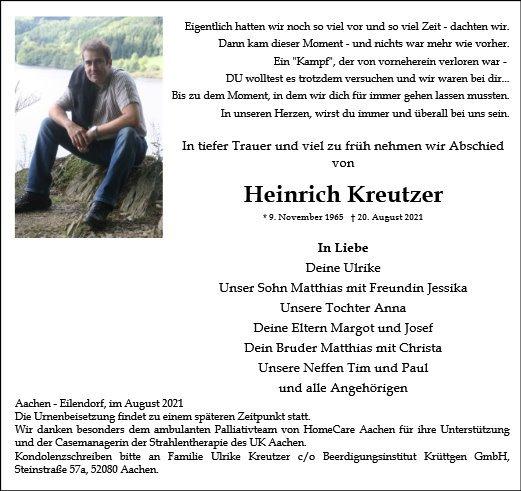 Profilbild von Heinrich Kreutzer